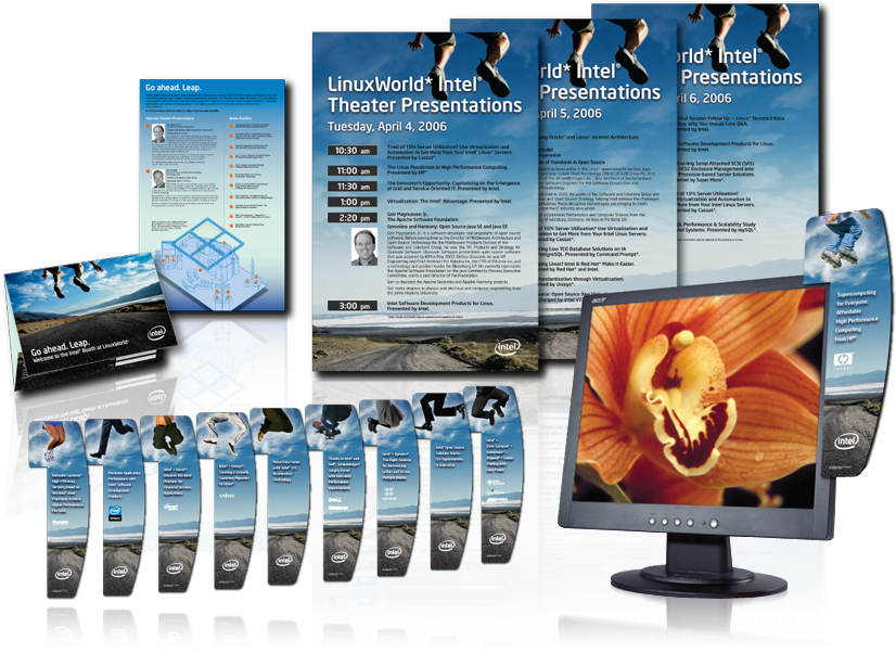 Tradeshow booth materials