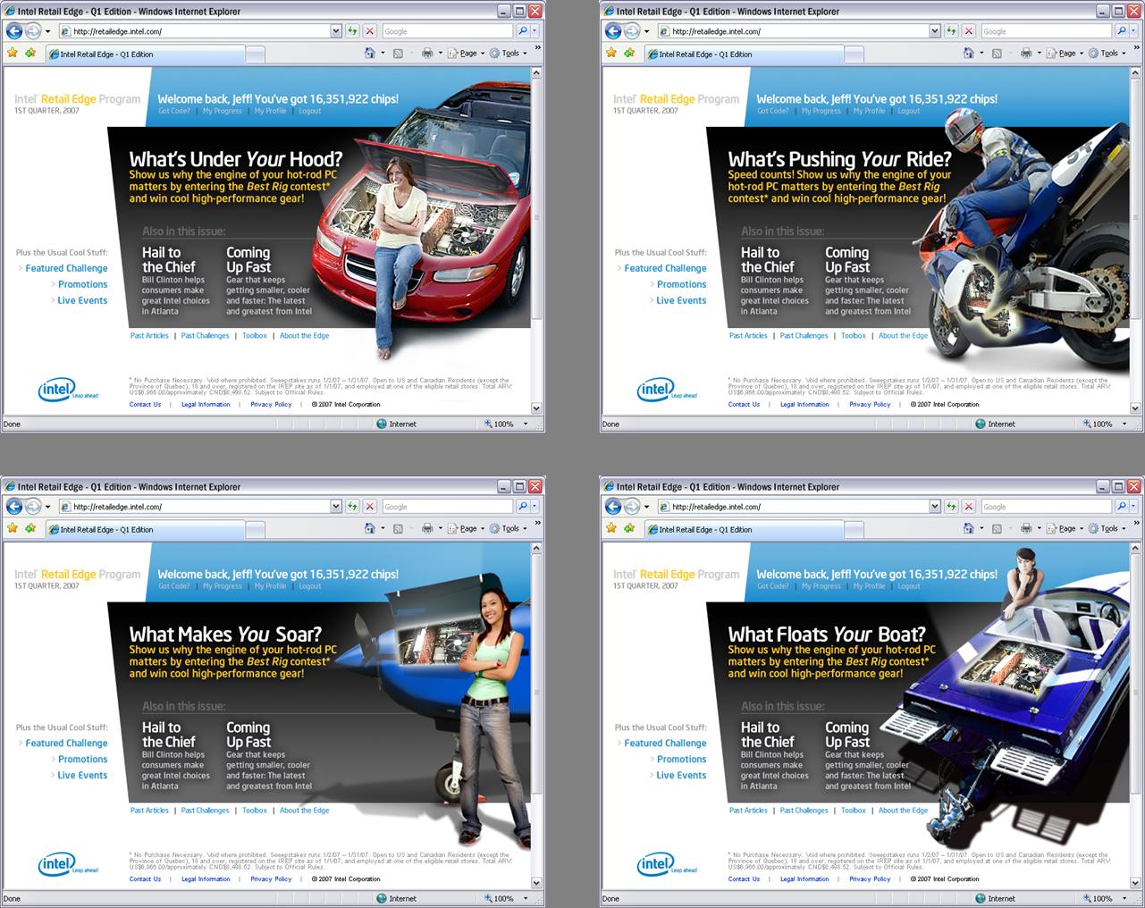 Retail Edge Web Portal Alternate